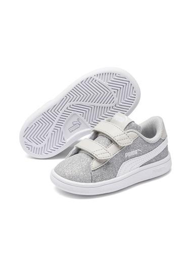 Puma Bebek Ayakkabısı Gümüş